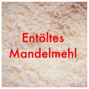 Mandelmehl entölt